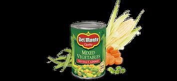 Del Monte® Mixed Vegetables - No Salt Added
