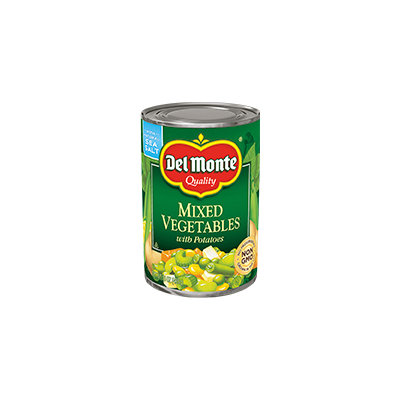 Del Monte® Mixed Vegetables with Potatoes