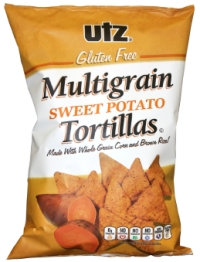 Utz Gluten Free Multigrain Sweet Potato Tortillas