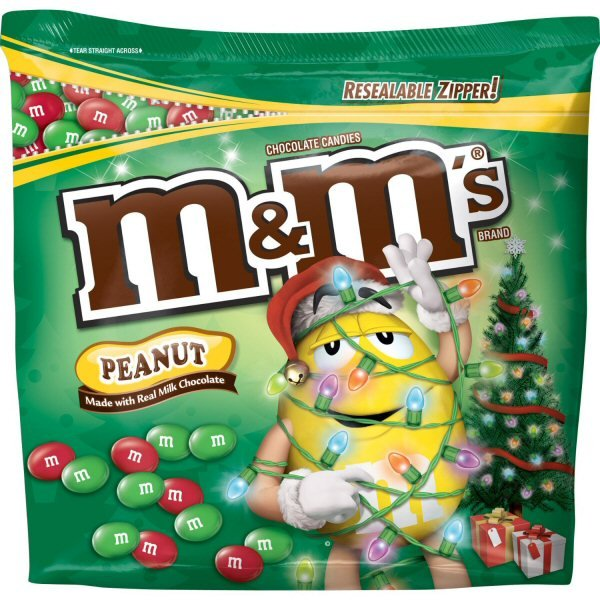 Peanut M&M's Chocolate Candies For The Holidays