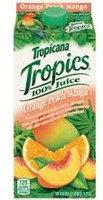 Tropicana® Tropics Orange Peach Mango