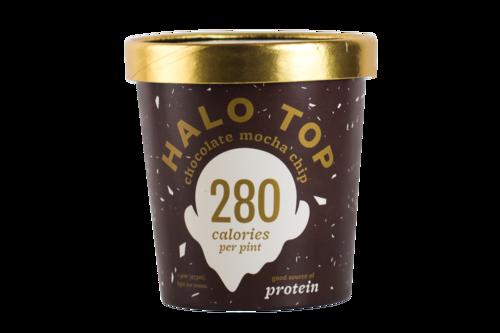 Halo Top Chocolate Mocha Chip Ice Cream
