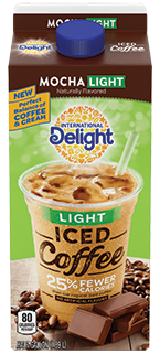 International Delight Mocha Light Iced Coffee