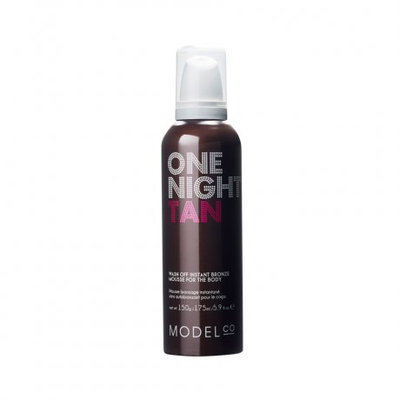 Model Co One Night Tan Wash Off Instant Bronze Mousse