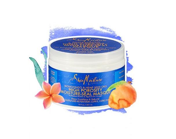 SheaMoisture Mongongo & Hemp Seed Oils High Porosity Moisture-Seal Masque