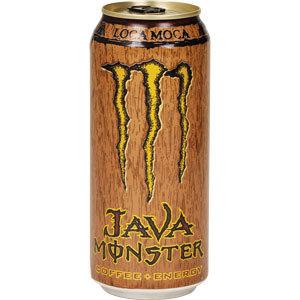 Monster Energy Drink Loca Moca