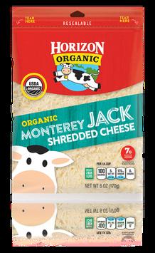 Horizon Shredded Monterey Jack Cheese