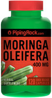 Piping Rock Moringa Oleifera 400mg 120 Capsules
