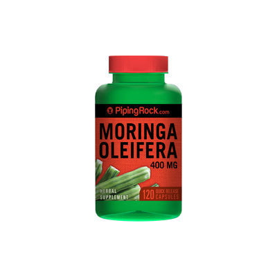 Piping Rock Moringa Oleifera 400mg 120 Capsules