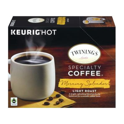 TWININGS® OF London Morning Splendor LIGHT ROAST Coffee K-Cup® Pods