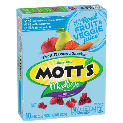 Mott's® Medleys Fruit Flavored Snacks - Berry