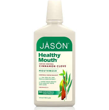 JĀSÖN Healthy Mouth® Tartar Control Cinnamon Clove Mouthwash