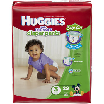 Huggies® Little Movers Slip-On Diaper Pants