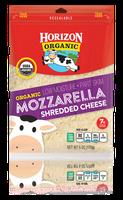 Horizon Shredded Mozzarella Cheese