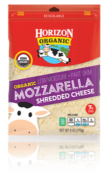 Horizon Shredded Mozzarella Cheese