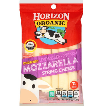 Horizon Mozzarella String Cheese