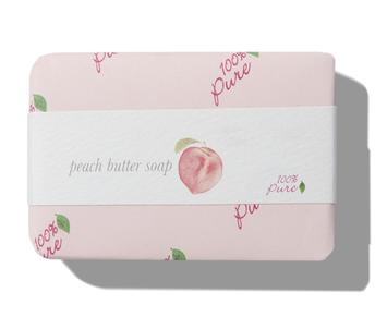 100% Pure Peach Butter Soap