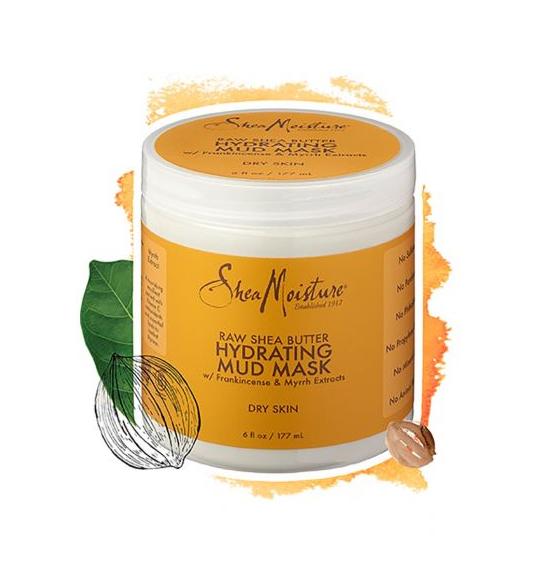 SheaMoisture Raw Shea Butter Hydrating Mud Mask