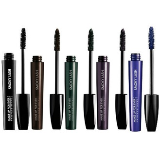 MAKE UP FOR EVER Smoky Lash Extra Black Or Intense Color Mascara Volume, Length And Curl