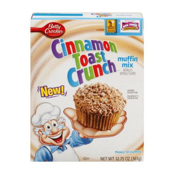 Cinnamon Toast Crunch Betty Crocker Box Muffin Mixes