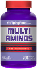Piping Rock Multi Amino Acid Supplement 200 Caplets