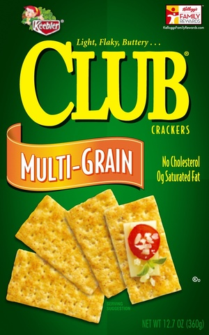 Keebler Club Crackers Multi Grain