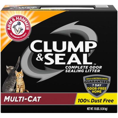 ARM & HAMMER™ Clump & Seal™ Complete Odor Sealing Clumping Litter Multi-Cat