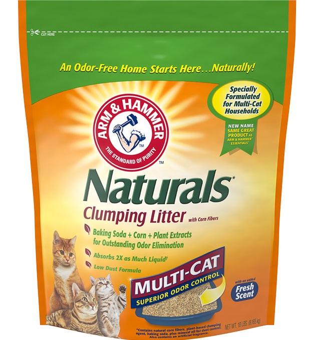 ARM & HAMMER™ Naturals Clumping Litter