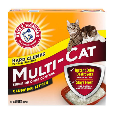 ARM & HAMMER™ Multi-Cat Strength Clumping Litter Original