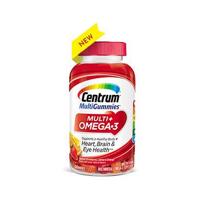Centrum® MultiGummies® Multi + Omega-3