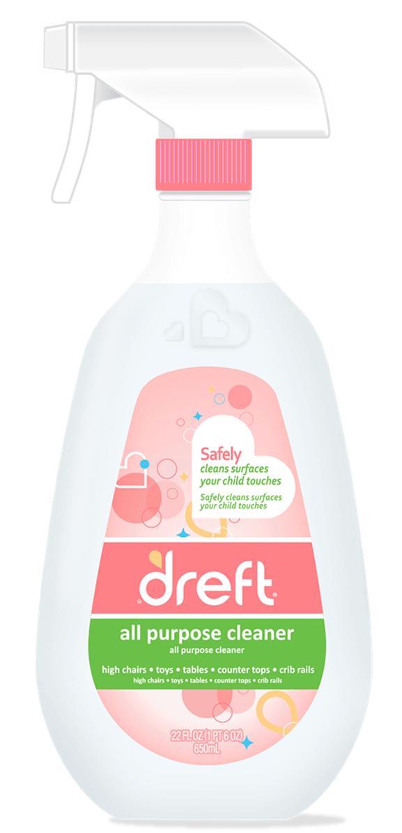 Dreft Gentle Clean Multi Surface Spray