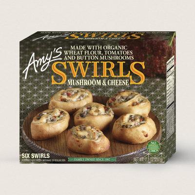Amy's Kitchen Mushroom & Cheese Swirls