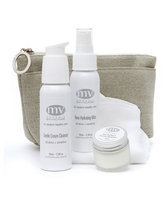 Mv Organic Skincare Travel Essentials for Sensitive Skin