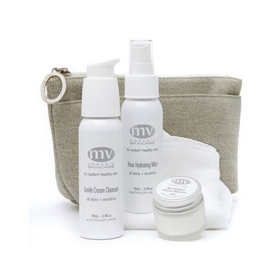 Mv Organic Skincare Travel Essentials for Sensitive Skin