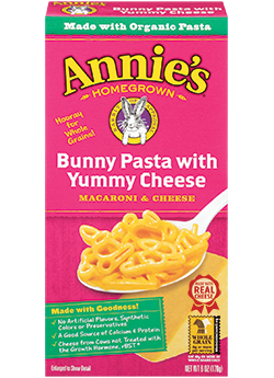 Annie's® Homegrown Totally Natural Bunny Pasta with Yummy Cheese