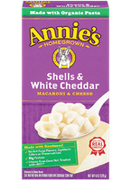Annie's®  Homegrown Shells & White Cheddar Macaroni & Cheese