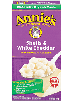 Annie's®  Homegrown Shells & White Cheddar Macaroni & Cheese