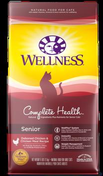Wellness Complete Health™ Senior: Deboned Chicken & Chicken Meal Dry Cat Food