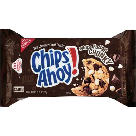 Nabisco Chips Ahoy! White Fudge Chunky Cookies