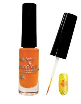 JORDANA Pop Art Nail Design With Precision Brush