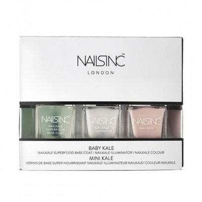 Nails Inc. Nailkale Polish Baby Kale Collection, 3 x 5ml