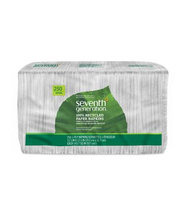Seventh Generation White 100% Recycled Paper Napkins