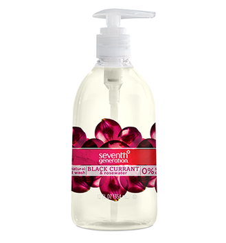 Seventh Generation Black Currant & Rosewater Natural Hand Wash