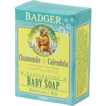 BADGER® Botanical Baby Soap