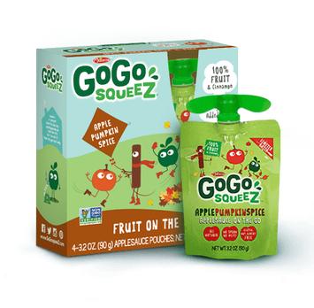 GoGo SQUEEZ APPLE PUMPKIN SPICE APPLESAUCE ON THE GO