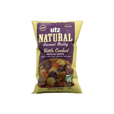 Utz Natural Gourmet Medley Kettle Cooked Potato Chips