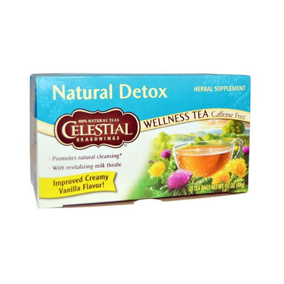 Celestial Seasoning® Natural Detox Wellness Tea Caffeine Free