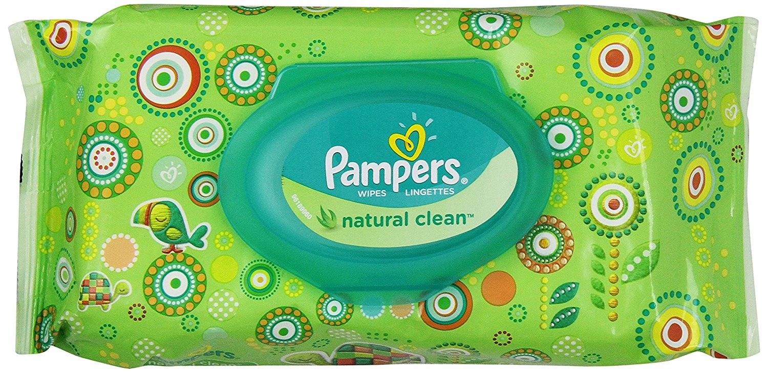 Pampers® Natural Clean™ Wipes