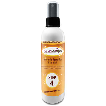 Naturalicious Curly/Wavy Edition: Step 4 Heavenly Hydration Hair Mist