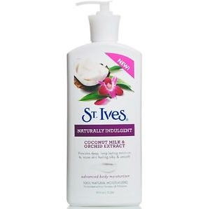 St. Ives Naturally Indulgent Advanced Body Moisturizer